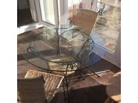 Garden/Conservatory Table & Chairs