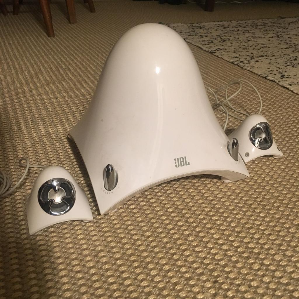 JBL Creature II Audio speaker and aub