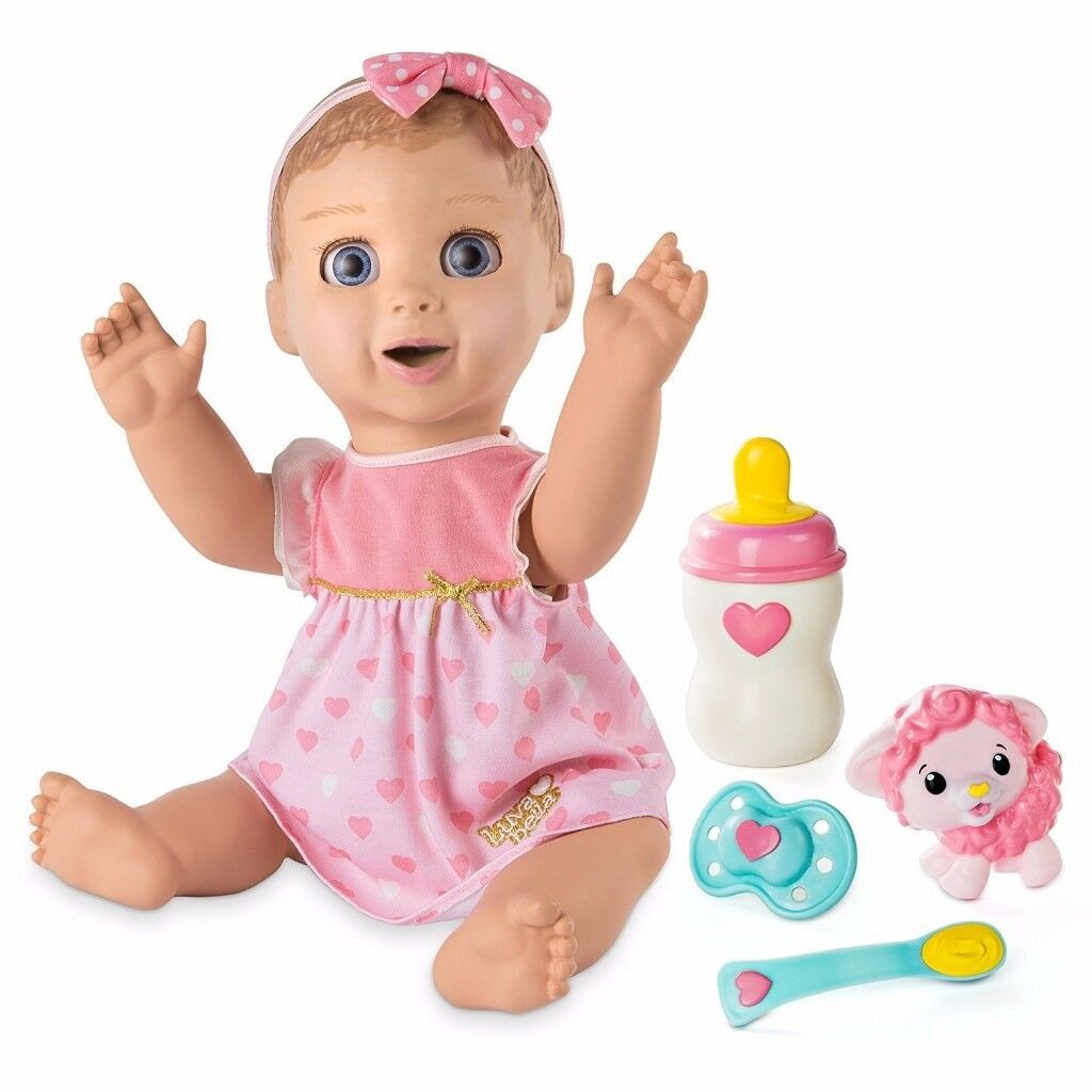 Brand New in Box Baby Luvabella doll - blonde.
