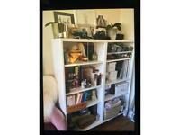 FREE Ikea shelf unit with wine rack