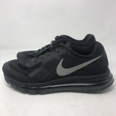 Nike Air Max Mens Athletic Shoes Black 621077-001 Running 2014 Lace Up Low Top