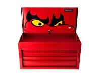 Teng 6 drawer top box tool box