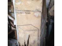 UNUSED GRADE A GUN SAFE STILL IN MANUFACTURERS PACKING POLICE APPROVED