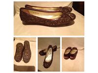 Designer Genuine nearly New jimmy Choo shoes size 5