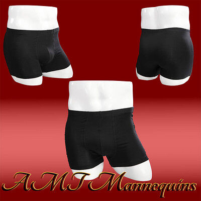 Male White Glossy Mannequin Legs Hips Display Men Underwear Size S Manequin Mk