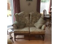 Ercol Old Colonial Three Piece Suite