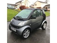 Smart Fortwo Pure,2003 , 698cc, Auto, low low miles only 20,000