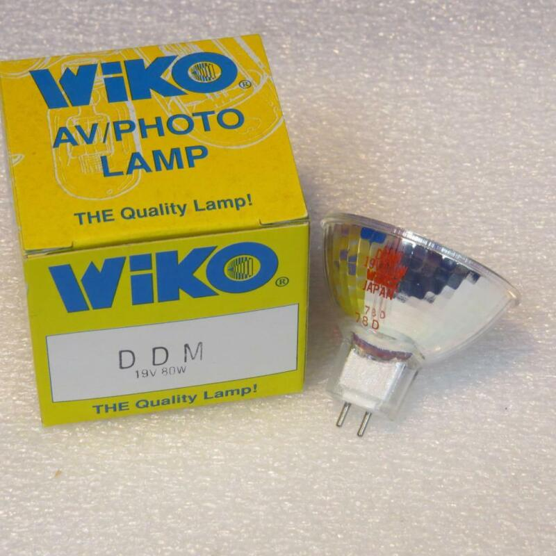 WIKO DDM 80W 19V Halogen Projector Projection Lamp Bulb AVG.50 Hrs Made Japan