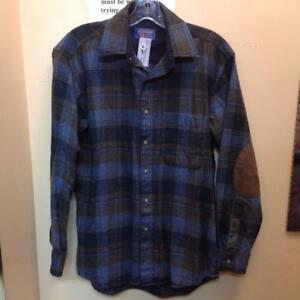 Pendleton 100% Wool Fitted Trail Shirt (DFUEX6)