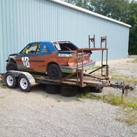 Race car and trailer Combo