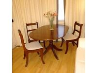 Dropleaf Table & Chairs