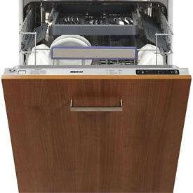Beko DW663 integrated dishwasher brand new