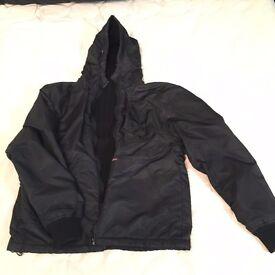 Men's Schott NYC REVERSIBLE jacket with hood