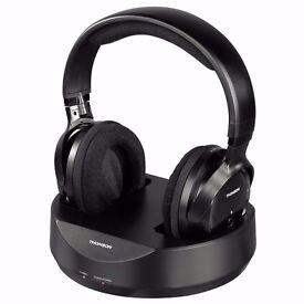 Thomson WHP3001BK Wireless Headphones by Hama
