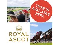BARGAIN,LADIES DAY - QUEEN ANNE ENCLOSURE TICKETS - COLLECT AT ASCOT