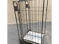 Warehouse cage trolly