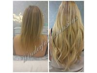 HAIR EXTENSIONS LONDON, NO DEPOSIT ALL COLOURS IN STOCK, FLEXIBLE HOURS, CREDIT CARDS ACCEPTED