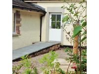 Garden Lodge 2 beds Self Catering Holiday cottage Sleeps 4 Rural Kinross between Edinburgh & Perth