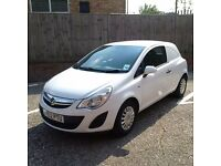 CORSA VAN, perfect condition, VERY low mileage, FULL SERVICE HISTORY, 1 owner, BLUETOOTH