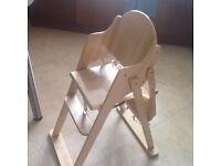 High chair - John Lewis