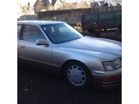 lexus 400ls spares or repair on sorn at the moment