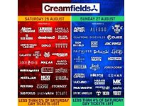 2day camping creamfields ticket