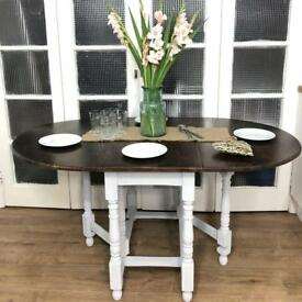 Oak Provenance Table Free Delivery Ldn shabby chic