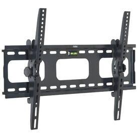 VonHaus Tilt TV Wall Mount Bracket with Built-in Spirit Level Suitable for 33 to 60 inch TVs- BNIB