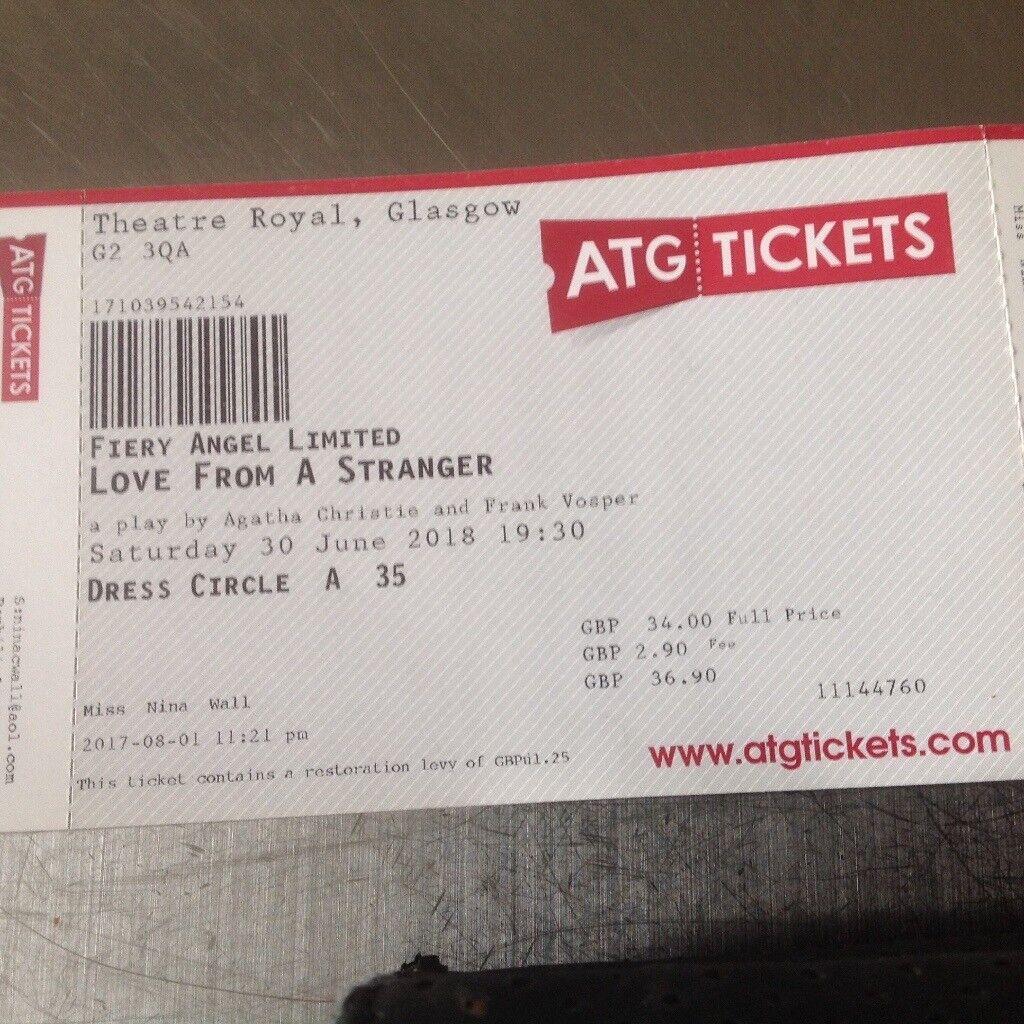 Stranger Tickets