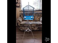 Bird cage & tripod hanging stand for sale