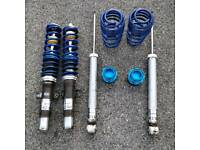 Volkswagen Polo 6r 9n2 coilovers lowering springs seat