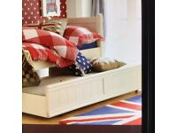 Aspace single bed with trundle