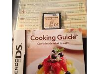 Nintendo ds & Nintendo 3ds cooking guide boxed