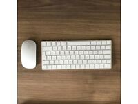 Apple Magic Mouse and Keyboard