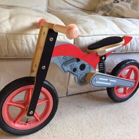 Balance bike for sale.