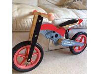 Balance bike for sale.
