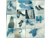 A SELECTION OF WOMENS SHOES SIZE 6 IN EXCELLENT CONDITION