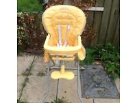 Graco High chair, Tommie tippee sterliser, baby walker, swinging horse All FOR £30