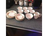 Gladstone Staffordshire China Set