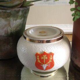 Vintage Oxford Uni Marmalade Pot