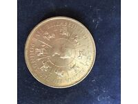 1993 FIVE POUND COIN PROOF ( 40TH ANNIVERSARY OF THE CROWN )