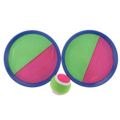 Set di 3 racchette e palline Self-stick per Grip Catch Ball Game (Tennis-ball Grip)
