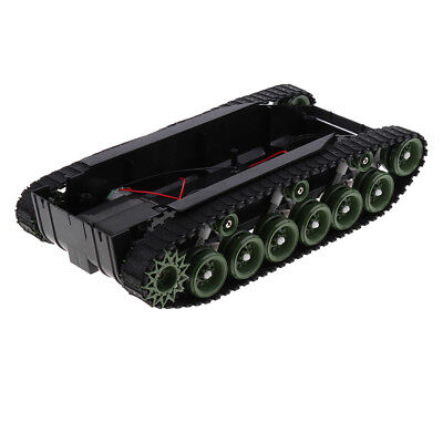 6-9v Tank Car Shock Absorbed Chassis Track Robotics For Arduino Science Toy