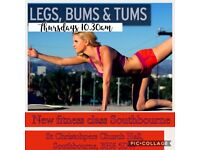 Legs Bums & Tums Fitness class Southbourne