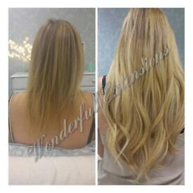 Special offer**Best quality Russian Virgin Hair Extensions**Full stock**Mobile**Last minute app