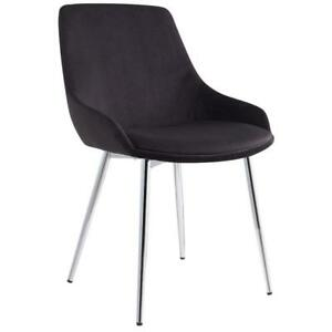 2PK Black Side Chair Sale-WO 7701 (BD-2578)