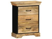 Chest of Drawers 60x30x75 cm Solid Mango Wood-247581