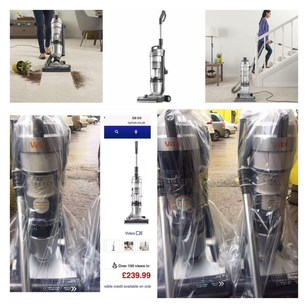 FREE DELIVERY VAX BAGLESS STRETCH VACUUM CLEANER HOOVERS