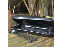 Volvo V50 TopBox and roof bars