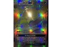 Alolan muk gx rainbow rare pokemon card